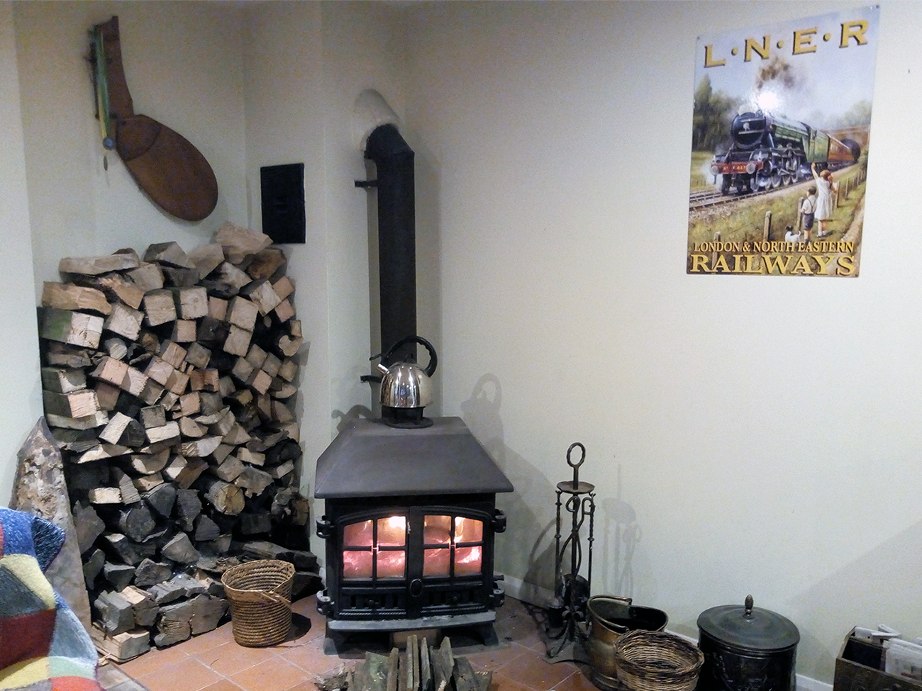 The-Patch-Holiday-home-North-Norfolk-woodburner-